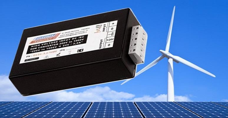 Nouveau convertisseur pour les énergies photovoltaïques et éoliens