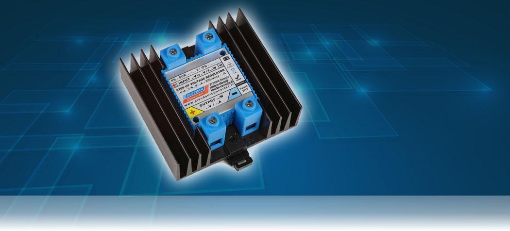 Step up voltage regulator refroidissement passif