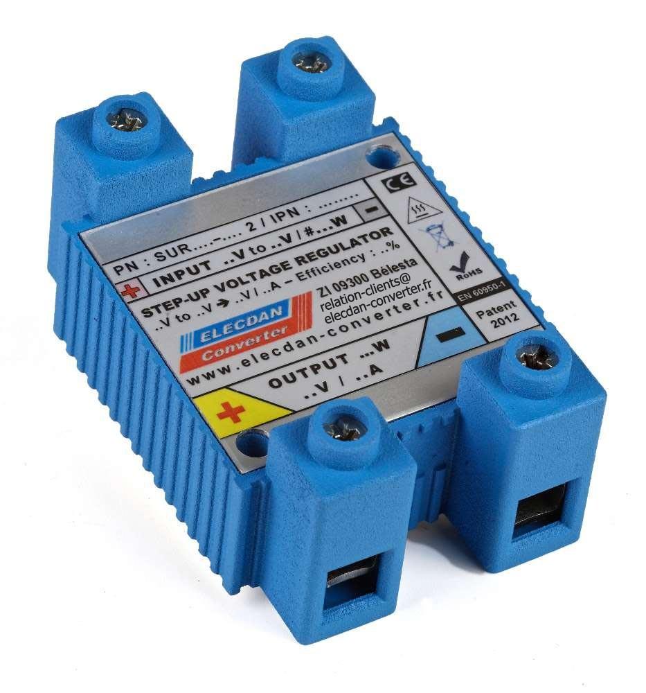 step up voltage regulator à refroidissement passif indépendant