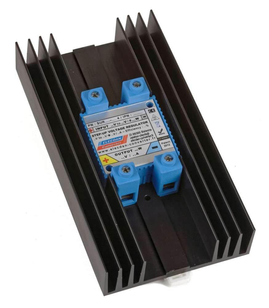 step up voltage regulator à refroidissement passif renforcé