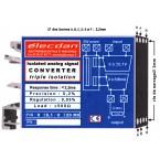 Boîtier pour RAIL DIN 66 x 53 x 22.5mm - réf. 0 +-100mV / 0 +-20 RD